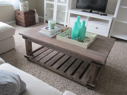 Cameron Coffee Table CoastalRustic feel For the Home
