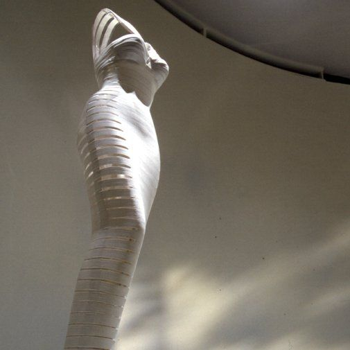 Azzedine Alaïa dress on display at SoHo's Guggenheim Museum, New York City ~ 2000