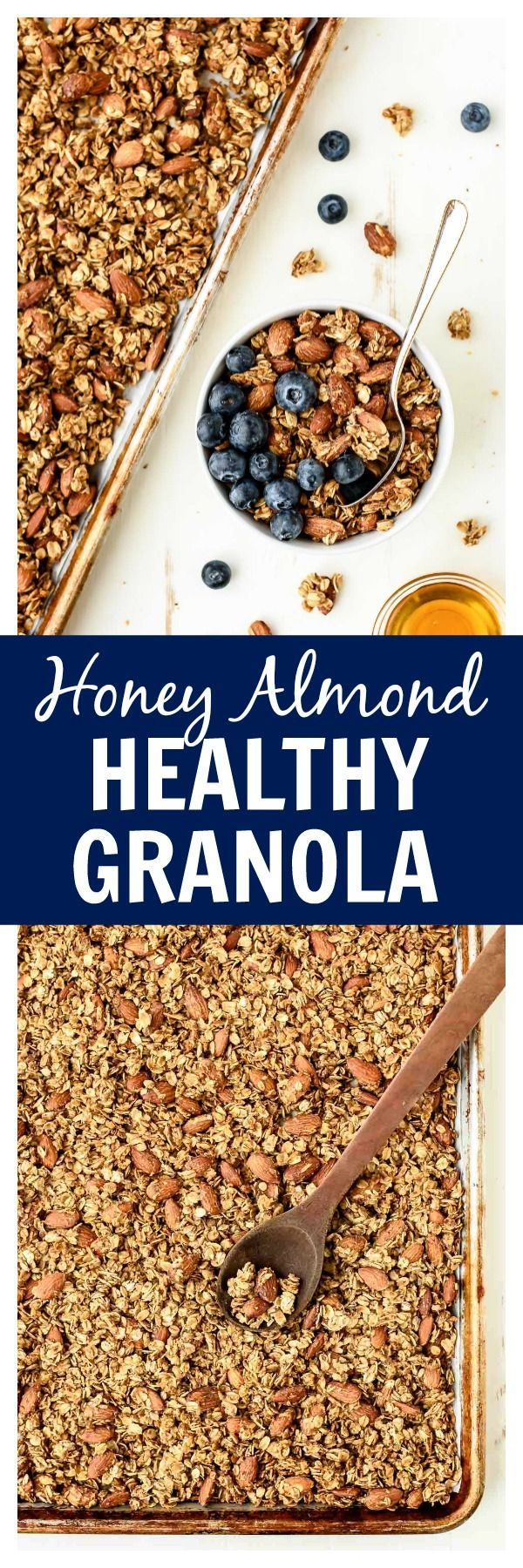 A Simple And Healthy Granola Recipe Made With Coconut Oil Honey
