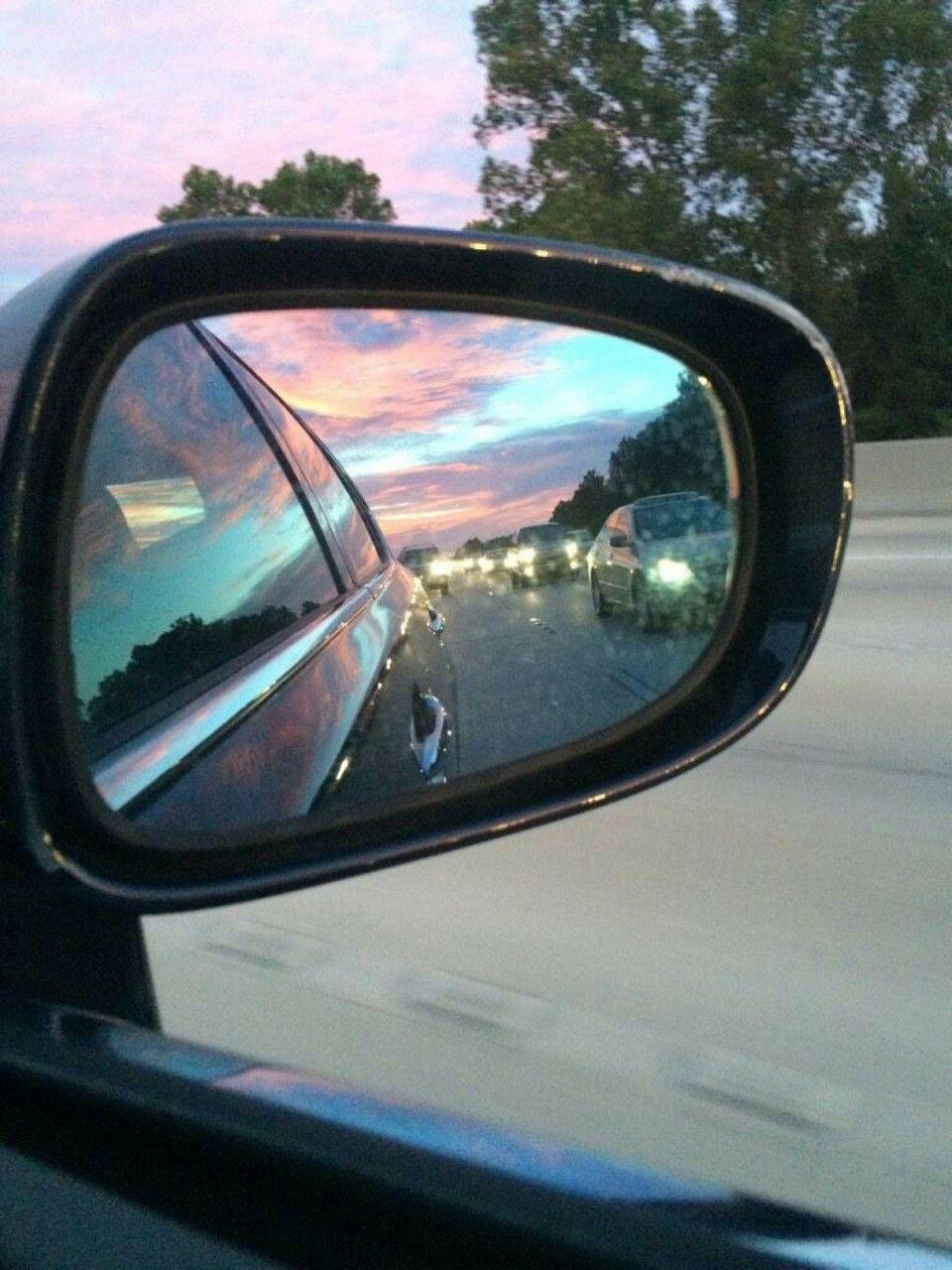car mirror reflection photography. car mirror, we heart it, indie mirror reflection photography