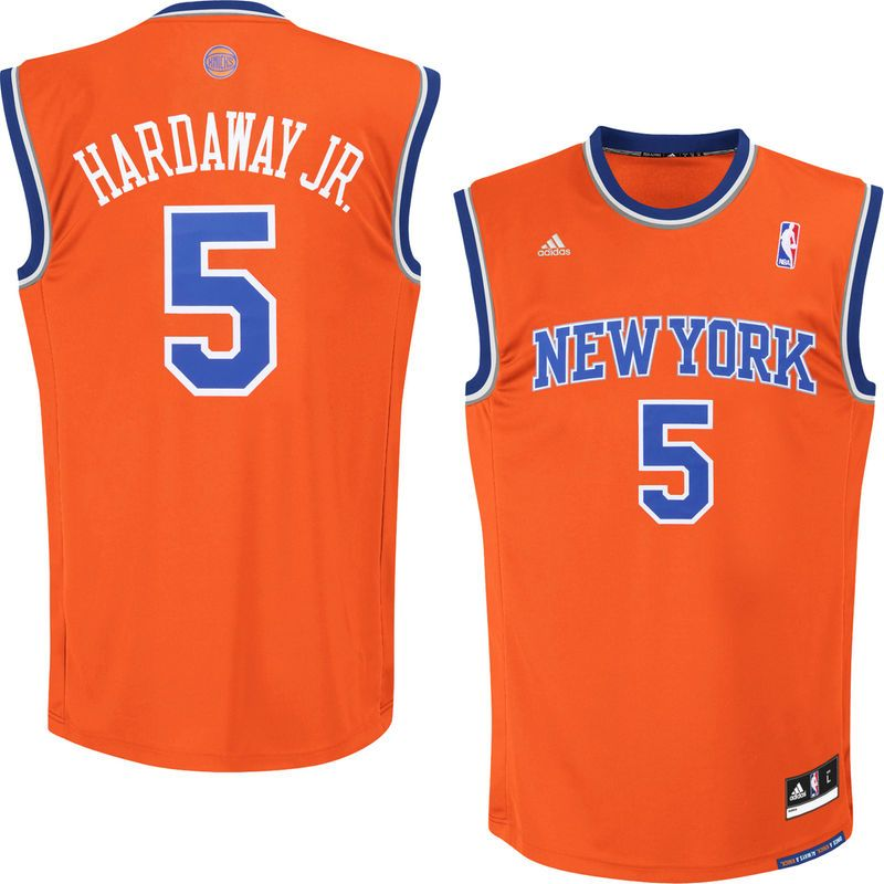 new arrival 35bdc c920f New York Knicks adidas Tim Hardaway Jr. Replica Jersey ...
