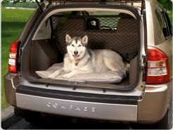 Jeep Compass Cargo Dog Bed Jeep Dogs Dog Car Accessories Jeep