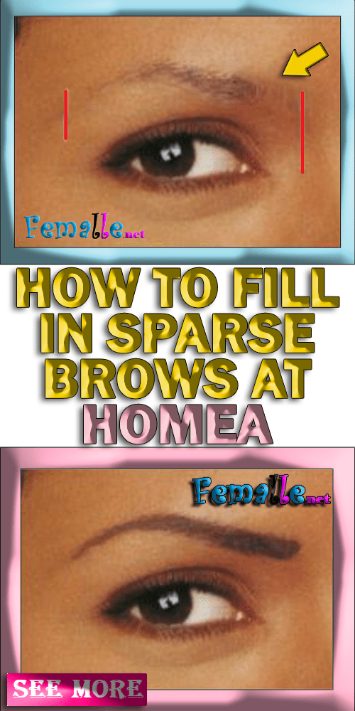 Learn how to fix your rare eyebrows home (With images ...