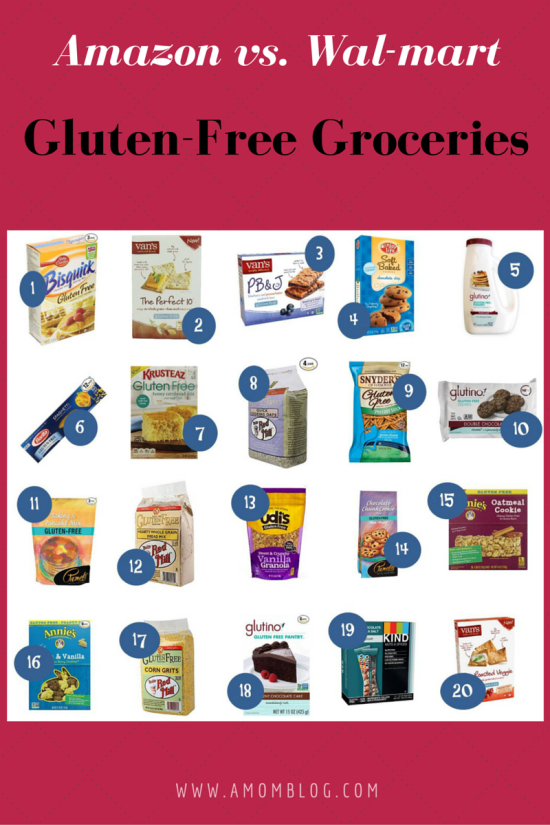 Save on Gluten-free Groceries550
