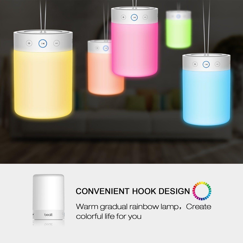 Robot Check Color Changing Lamp Bedside Lamp Warm Design
