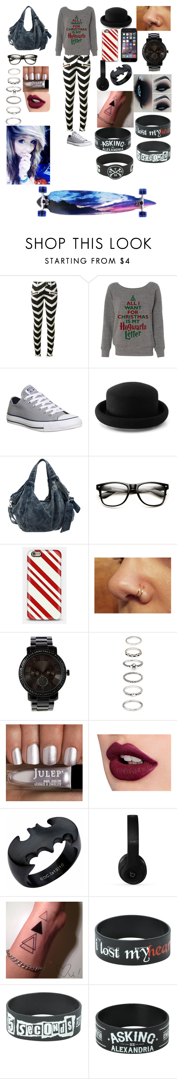 """Finals today...yay..."" by ashtonlovesbvb ❤ liked on Polyvore featuring Balmain, Converse, Warehouse, Forever 21 and Beats by Dr. Dre"