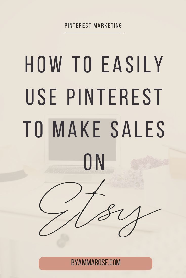 A Pinterest Strategy That Will Actually Make You Sales on Etsy - a blog post on Pinterest marketing for Etsy sellers where I walk you through my exact process of funneling sales and traffic into Etsy shops #etsysellers #pinterestmarketing #pintereststrategy