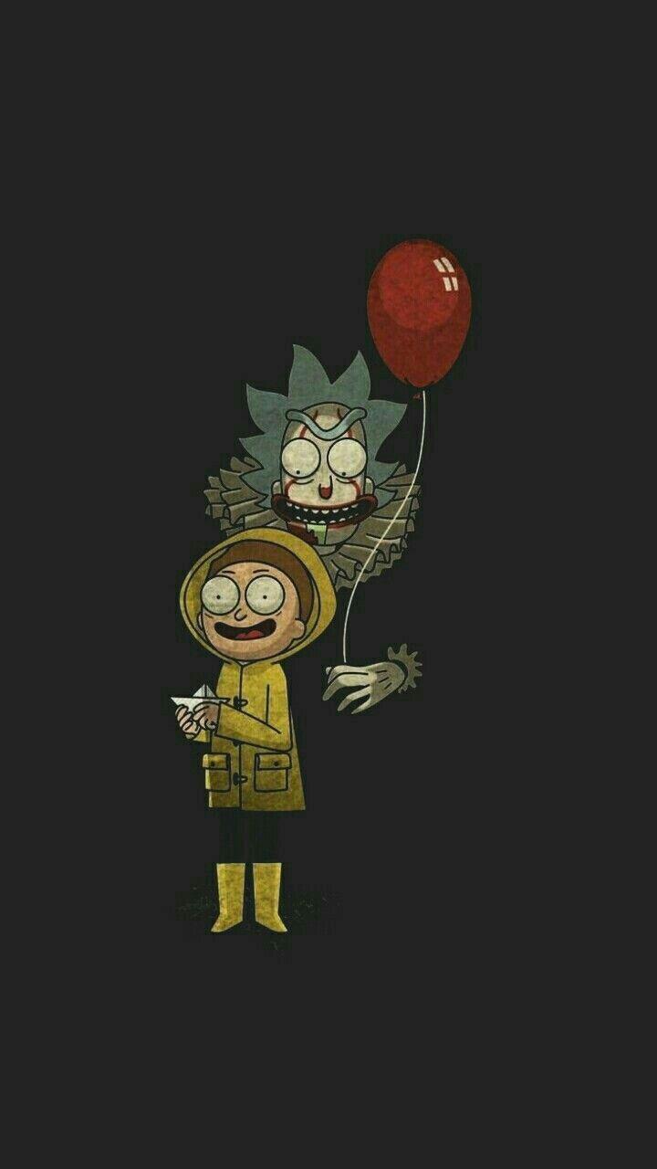 Rick And Morty It Rick And Morty Poster Cartoon Wallpaper Rick I Morty
