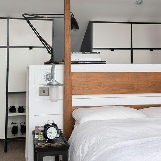 中性色調的悠閒感 位在倫敦南部的家 Luxury Bedroom Furniture