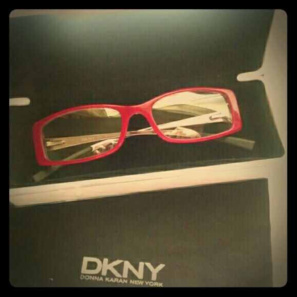 e74d8f8bcd DKNY Frames Hot pink frames with non prescription lens. No scratches on the  frame whatsoever. Lenses were replaced after I had eye surgery but still  wanted ...