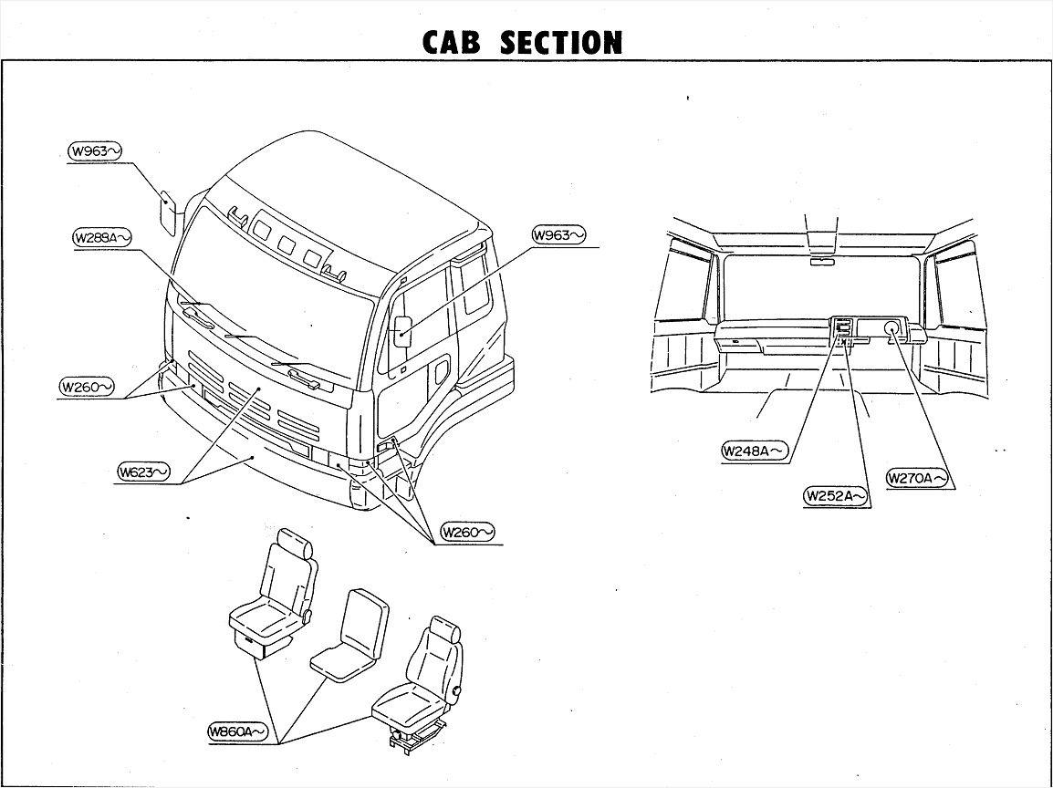 Ud Trucks Wiring Diagram Wiring Images Classy Nissan Ud Wiring Diagram  Yu70216 | Autostrach | Nissan diesel, Nissan trucks, Nissan cabstarPinterest