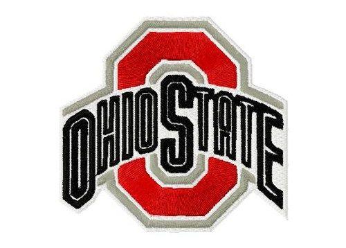 Ohio State Buckeyes Machine Embroidery Design Susiesstitches