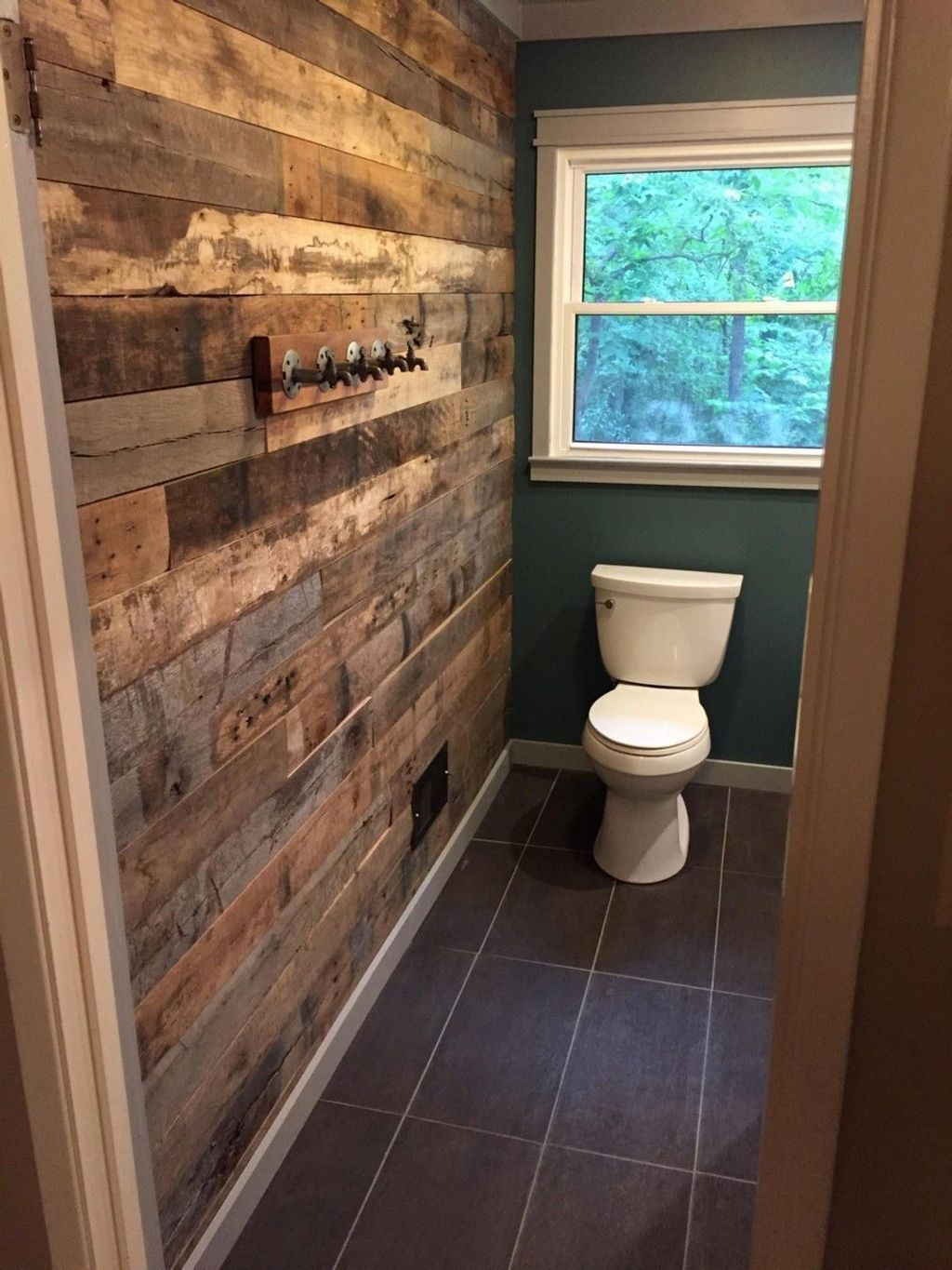 40 rustic pallet wall design ideas that inspire you with