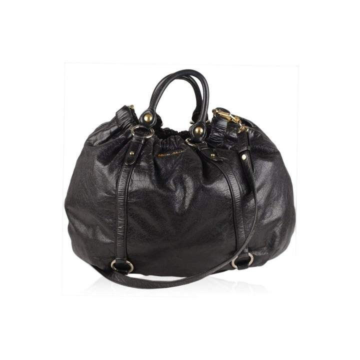 530baef3b473 Miu Miu Leather crossbody bag