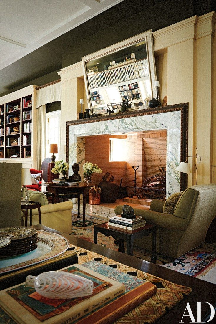 In Thomas O Brien And Dan Fink S Home Studio Everything Old Is New