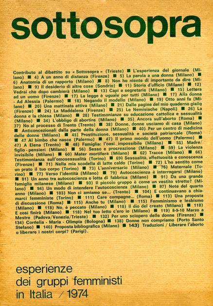 Αποτέλεσμα εικόνας για Demau, femminismo, anni'70