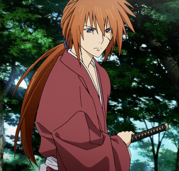 Himura Kenshin Rurouni kenshin, Kenshin anime, Best