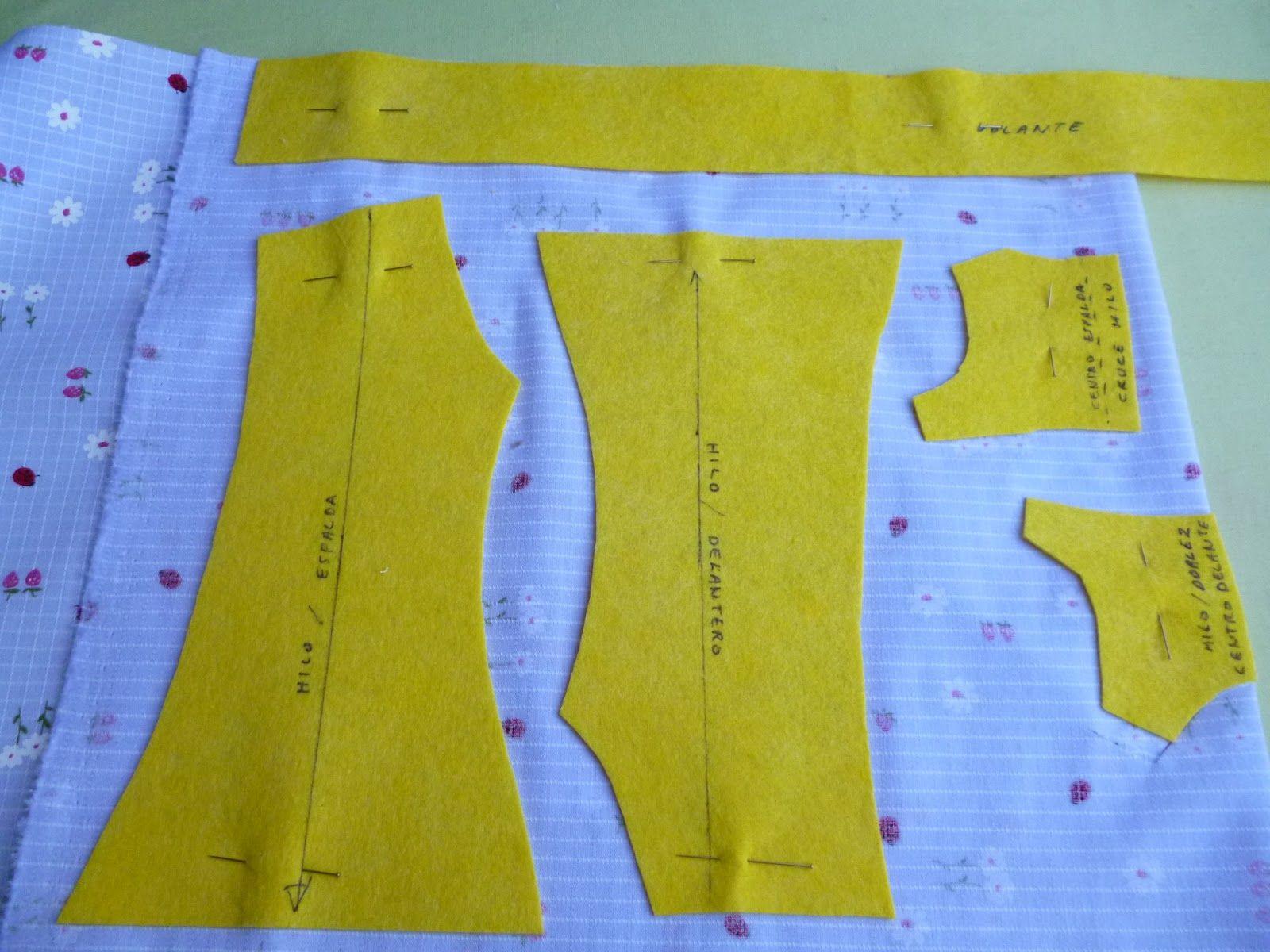 Patrones tutorial para hacer vestido mueca nancy pictures - Patrones para hacer patchwork ...