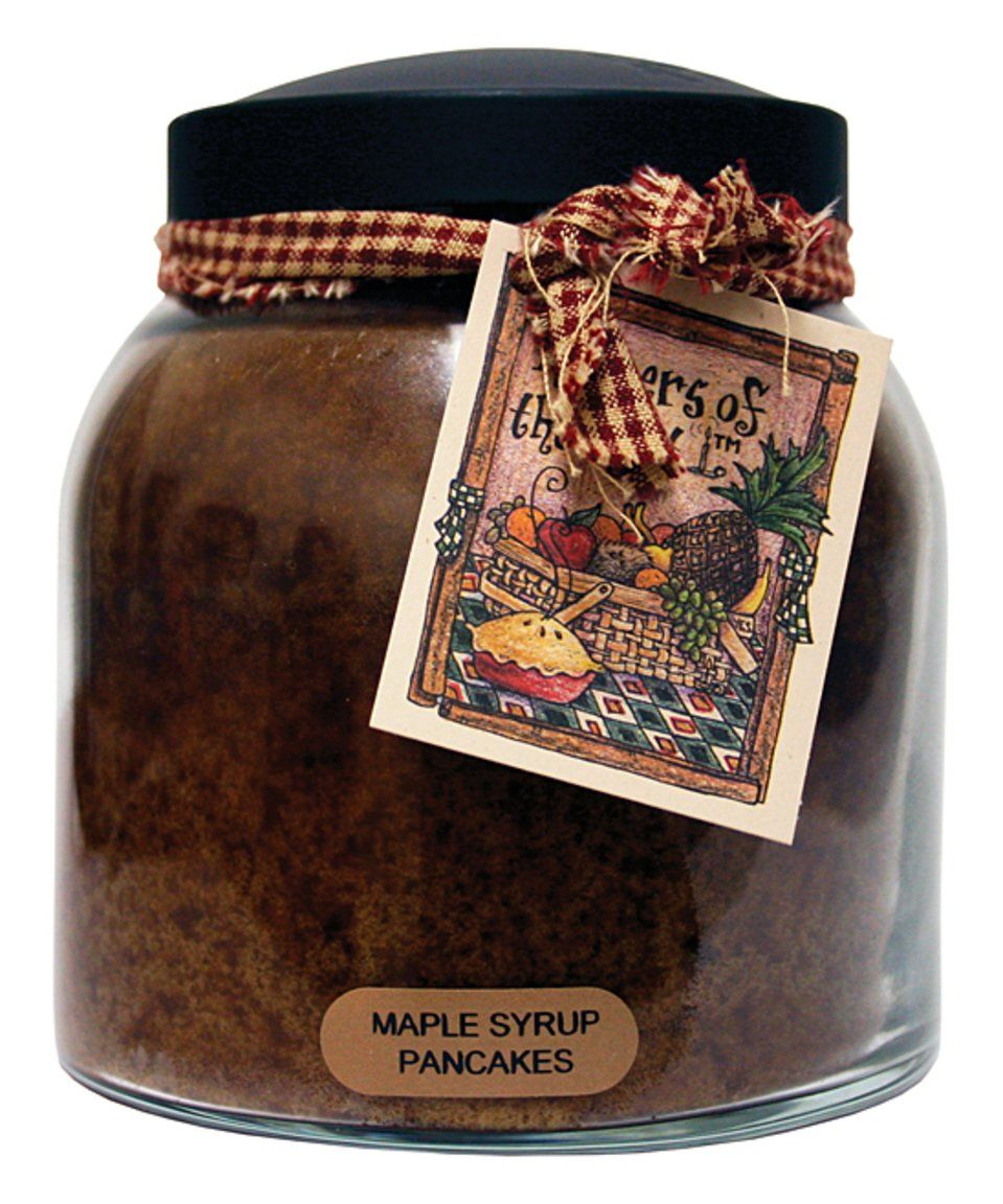 Take a look at this Maple Syrup Pancakes Papa Jar Candle