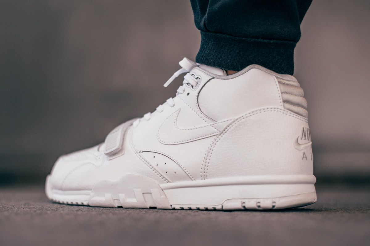 Nike Air Trainer 1 Mid White Man Sneaker