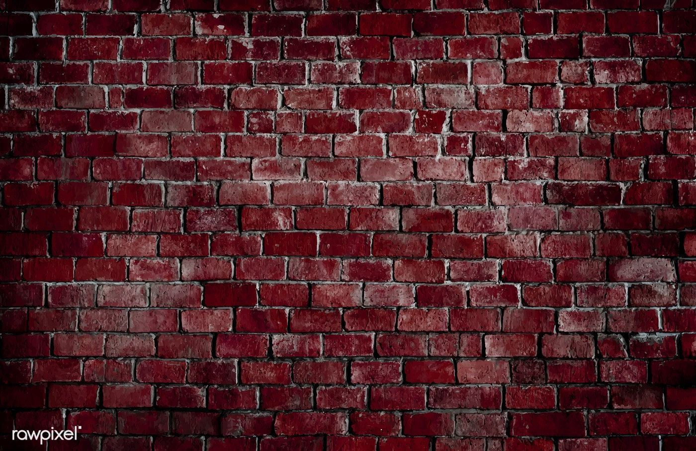 Red Textured Brick Wall Background Free Image By Rawpixel Com