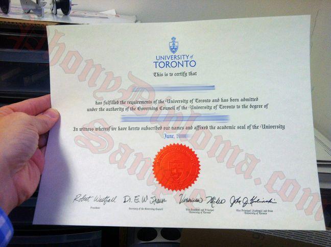 University Of Toronto Fake Diploma From Canadian School From Phonydiploma Diploma University Of Toronto Canadian Universities