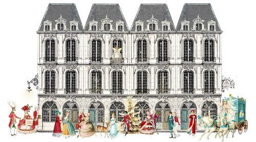 paris buildings Wendy patterson