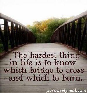 The hardest thing to know quote