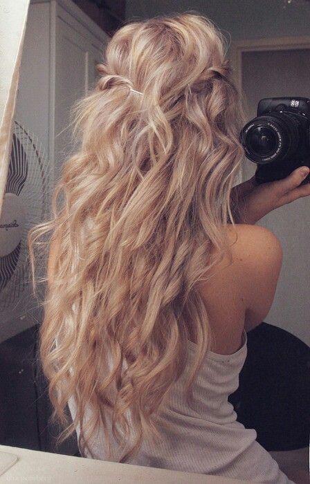Curls...  LOVE!