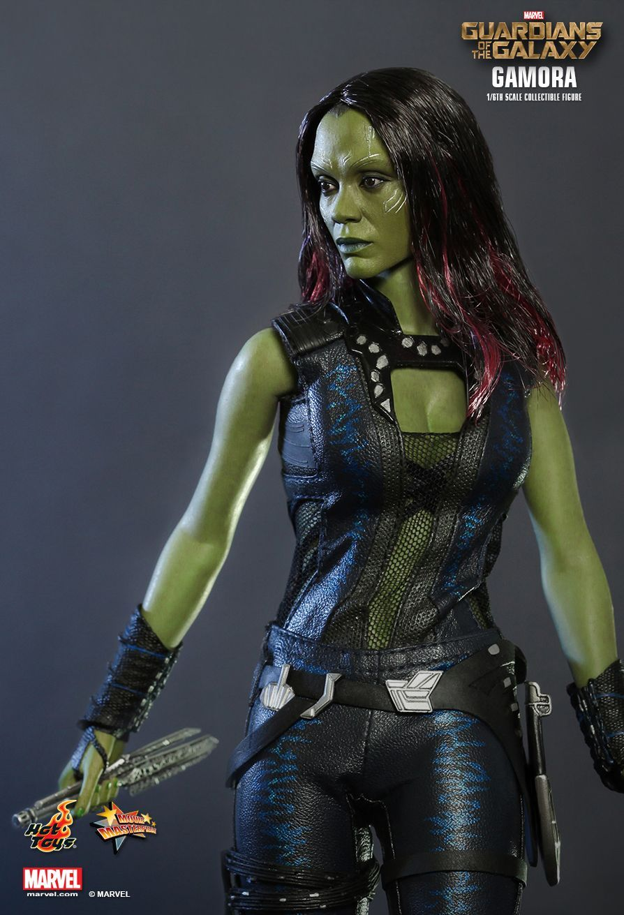 """Hottoys 1//6 Scale Gamora Hands Model for 12/"""" Action Figure"""