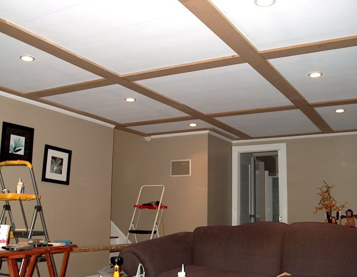 Diy Coffered Ceiling Project Ideas In 2019 Molding