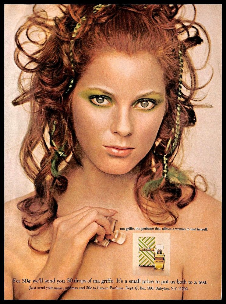 1971 Ma Griffe By Carven Perfume Vintage Print Ad Fragrance Scent Greeneyes Carven Vintage Cosmetics Green Eyes Perfume