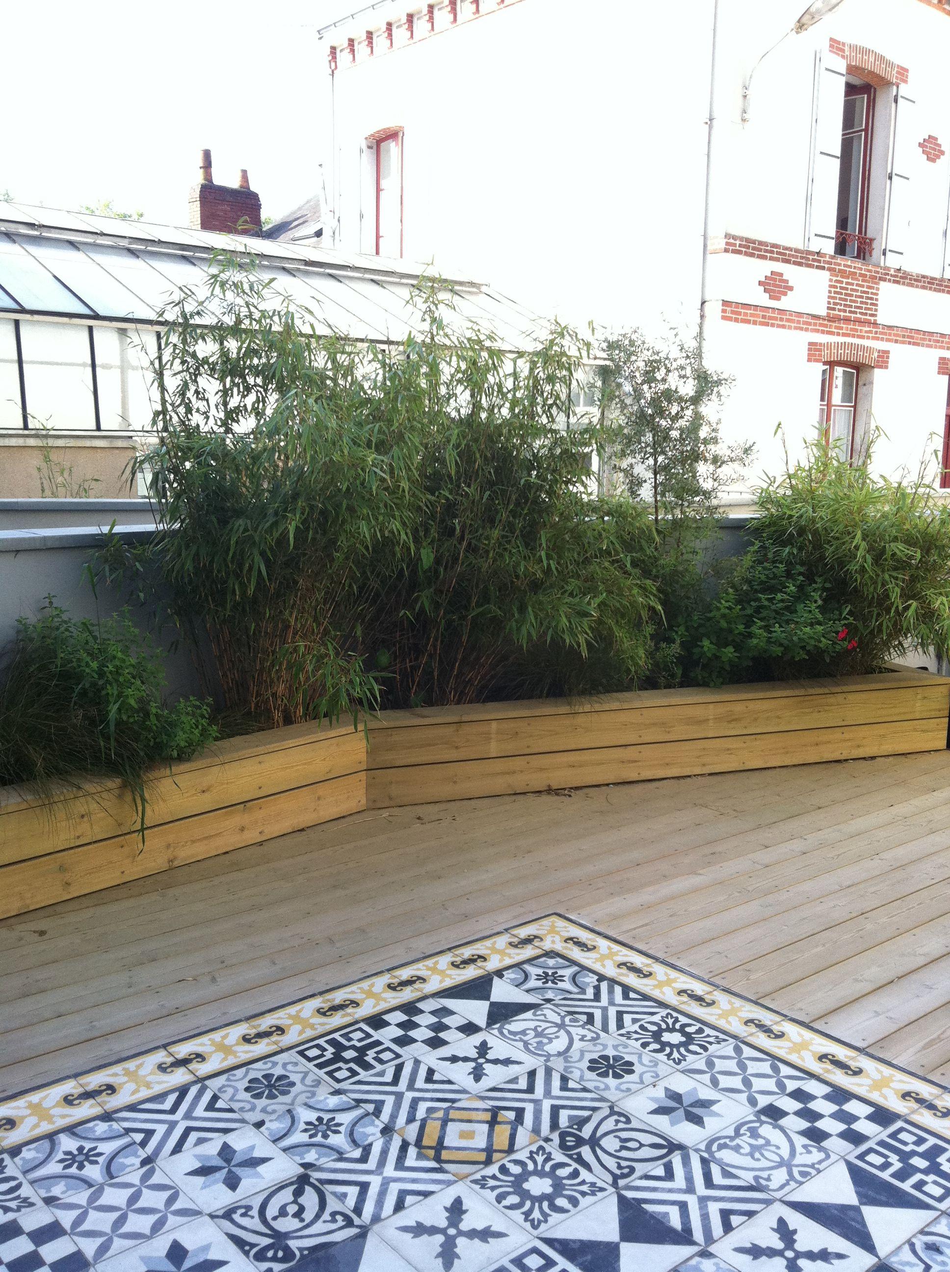 Carreaux De Ciment Terrasse Exterieure
