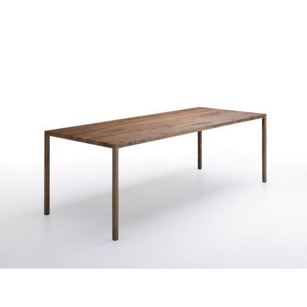 MDF Italia Tense Wood tafel 240x100. Een prachtige tafel voor in de ...