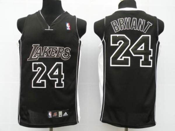 9fca357f3b6 ... Los angeles lakers · Lakers 24 Kobe Bryant Embroidered Black Black  Shadow NBA Jersey!