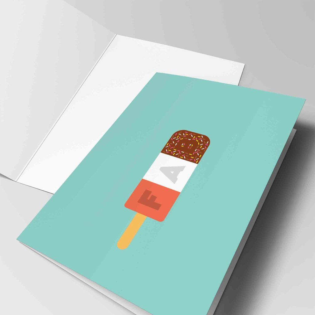 You are fab congratulations card congratulations cards are you interested in our fab greeting card with our ice lolly card you need look no further kristyandbryce Choice Image