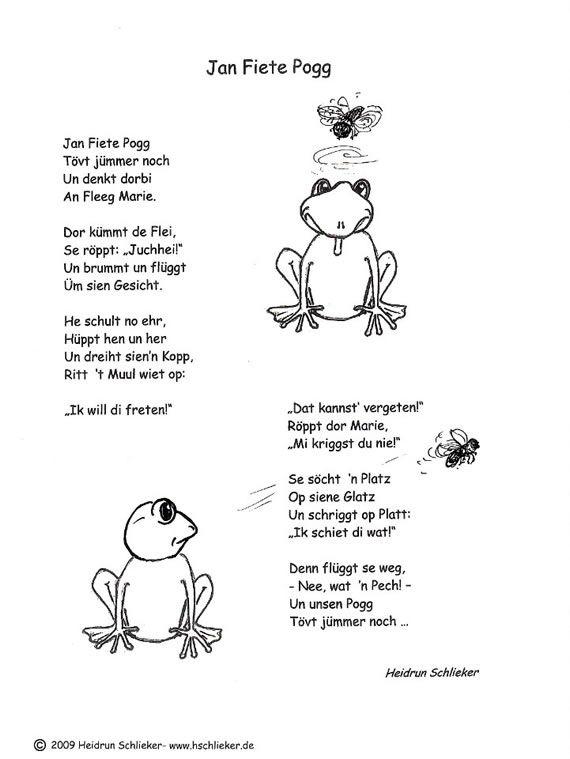 Heidrun Schlieker Gedichte Texte Lieder Plattdeutsch
