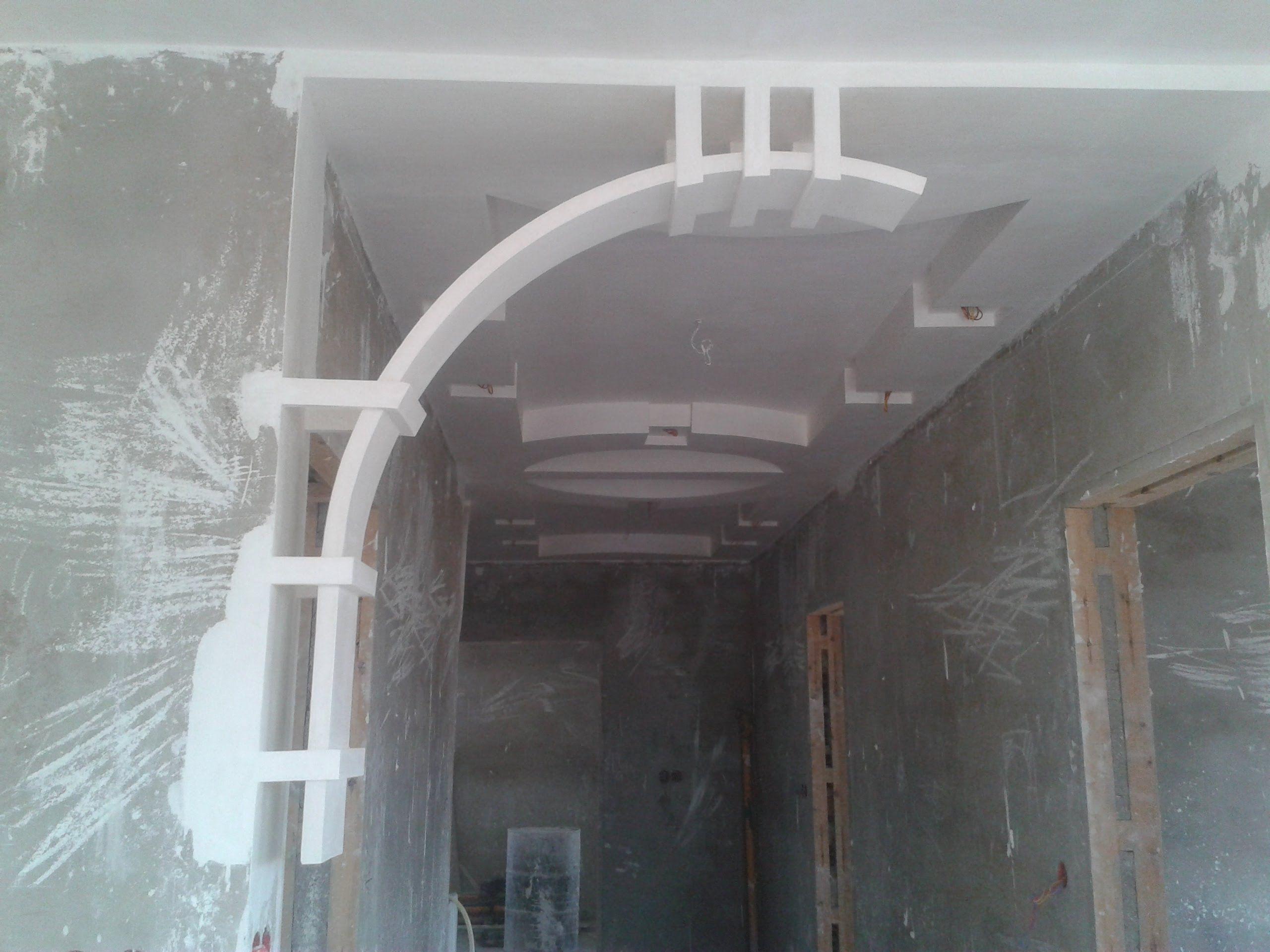 Arc En Platre Moderne اقواس الجبس Gypsum Ceiling Design Ceiling Design Bedroom False Ceiling Design