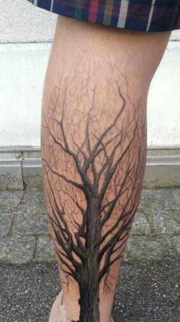 Diversos Diseños Originales Tatuajes De Arboles Secos Tatuajes En