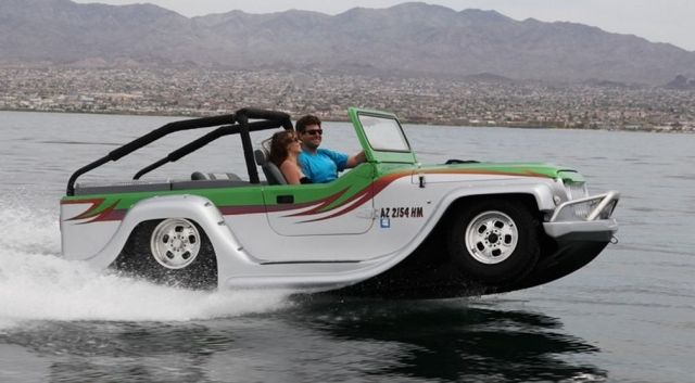 WaterCar Panther- Fastest Amphibious Car | Technology
