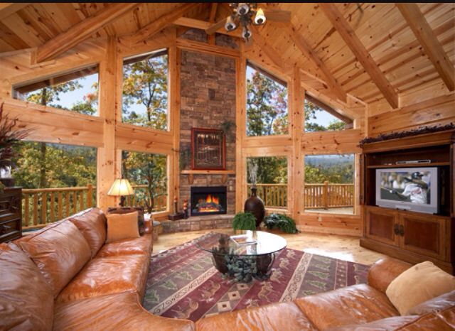 Beautiful Open Concept Room Cabins
