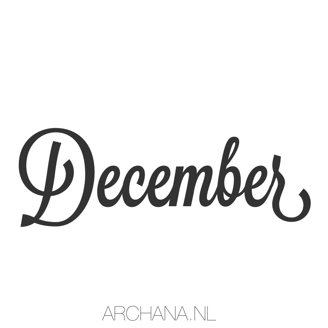 D e c e m b e r u hello december u the perfect month to finish what