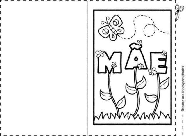 34 Cartoes Para O Dia Das Maes Educacao Infantil Aluno On Com
