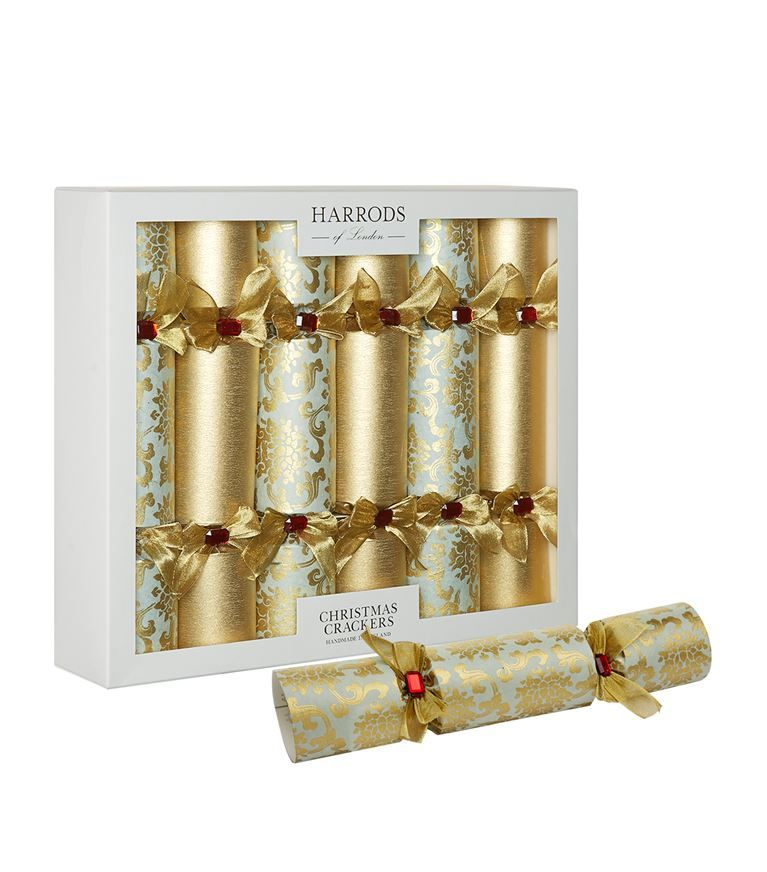 Homewares: Christmas Crackers Harrods Of London Tudor Rose