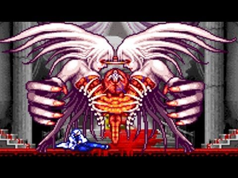 Castlevania Aria Of Sorrow All Bosses No Damage Castlevania Aria Of Sorrow Boss Gaming Console