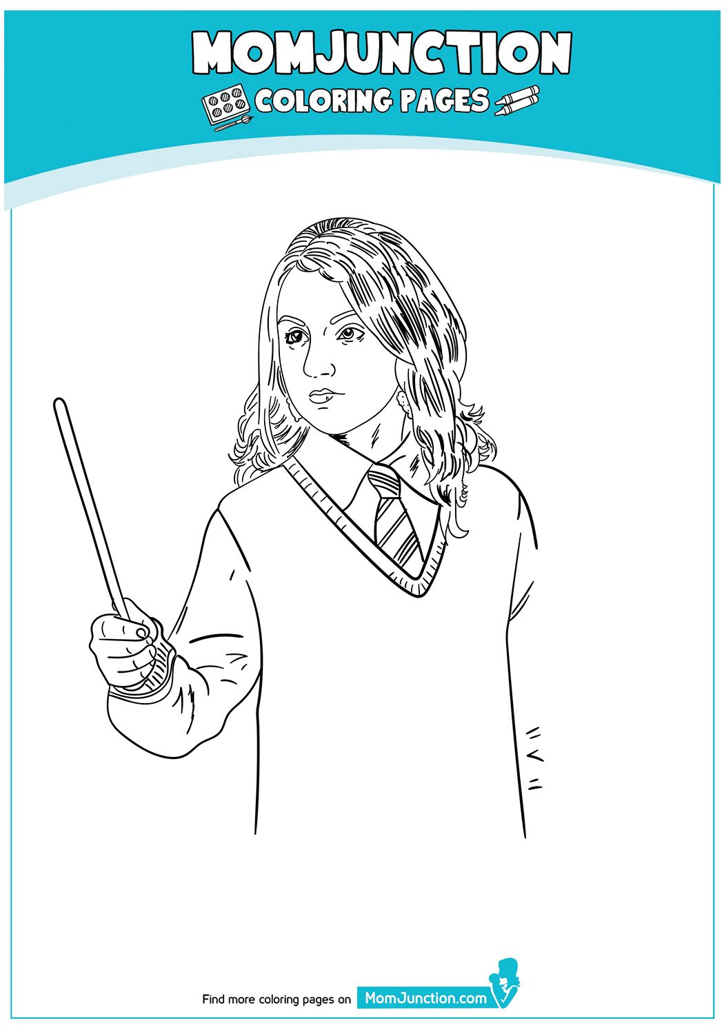 The Ginny Weasley 17 Coloring Pages Color Mom Junction
