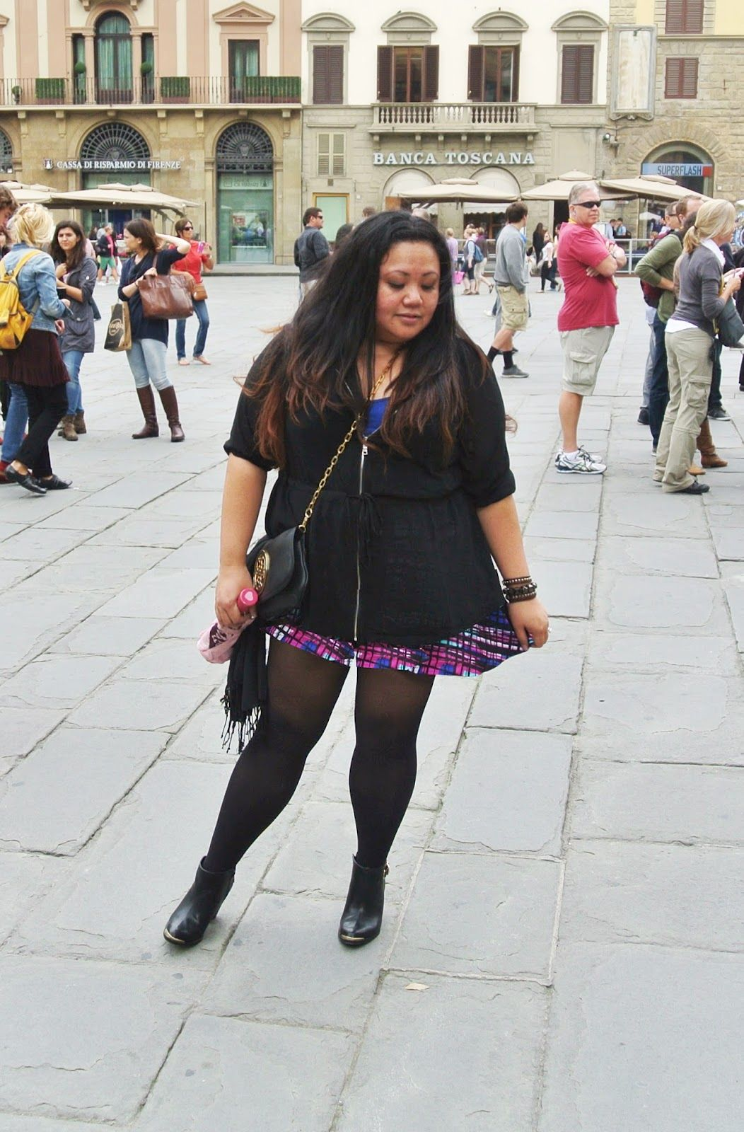 fe8b67505d9 Life   Glamour. Plus size outfit of the day. Wore during day trip in  Florence