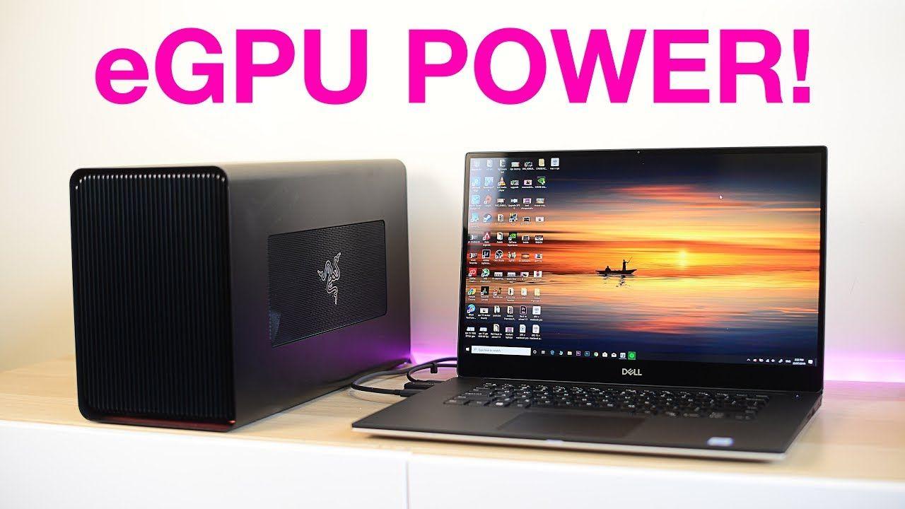 Egpu Power Xps 15 2019 7590 The Best Egpu Thunderbolt 3 Enclosure Fo Power Digital Key Thunderbolt