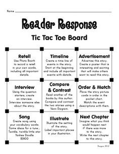 Tic tac toe spelling practice google search reading strategies tic tac toe board reader response to gp with baggie books pronofoot35fo Choice Image