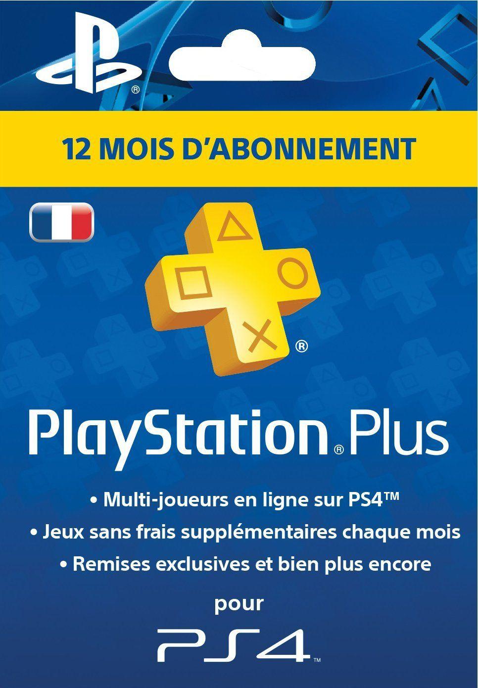Jeu Video Pas Cher Playstation Plus Card Abonnement 12 Mois Jeux Video Jeux Jouets Ventes Pas Cher Com Playstation Ps4 Ps Plus